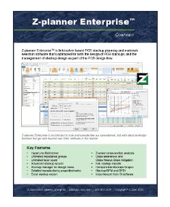 Z-planner Enterprise Datasheet Tile